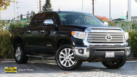 Pre-Owned 2015 Toyota Tundra Limited CrewMax